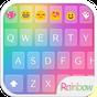 Teclado Emoji Amor Arco-íris