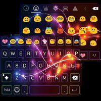 Ícone do apk Neon Electric Emoji Keyboard