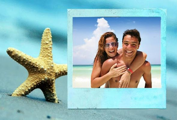 Picture 6 of Beach Photo Frames