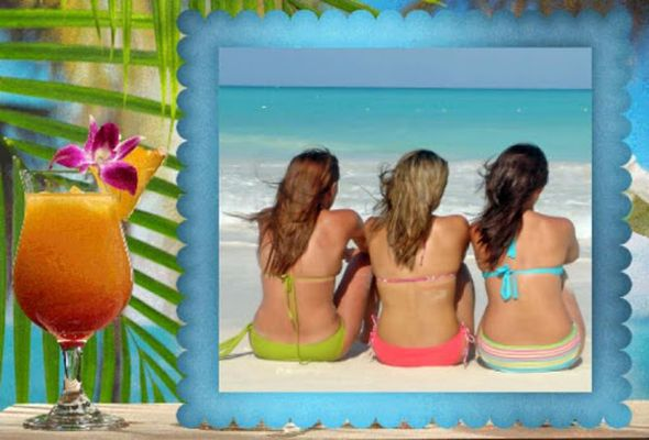Picture 4 of Beach Photo Frames