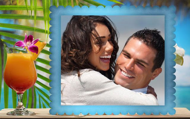 Beach Picture Photo Frames