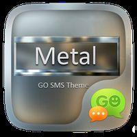 GO SMS METAL THEME icon