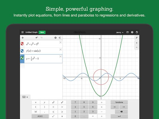 Image 6 of Desmos Graphing Calculator