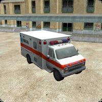 Ambulans 3D Park Oyunu Simgesi