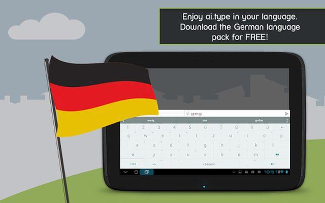 Image 2 of German for ai.type Keyboard