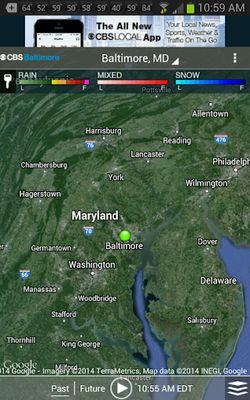 CBS Baltimore Weather Image 1