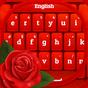 GO Keyboard Rose Red