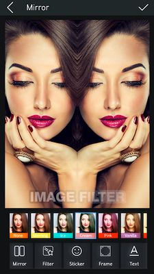 Image 3 of Mirror Photo Editor & Collage