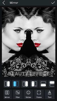 Mirror Image Editor & Collage Photo
