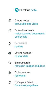 Image 13 of Nimbus Note - Notes and Tasks