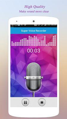 Picture 6 of Super Voice Recorder