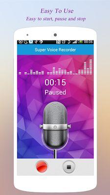 Super Voice Recorder Image