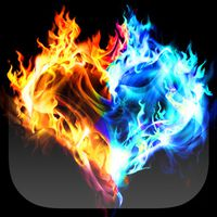 imagen fire and ice live wallpaper 0thumb