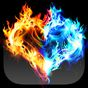 Ateş ve Buz Canlı Duvar Kağıdı  APK