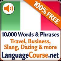 Ícone do Aprenda palavras em Italiano