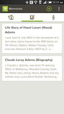 FamilySearch Image 2 - Memories