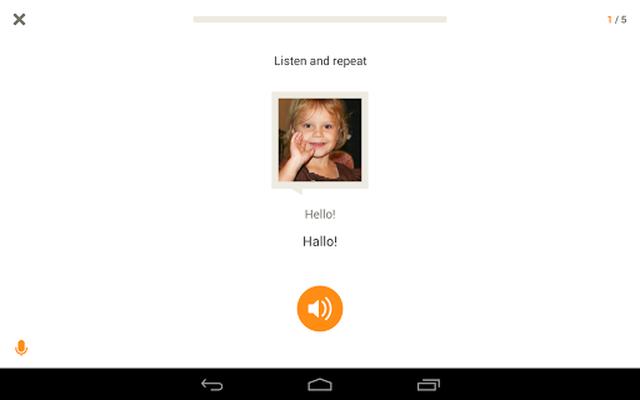 Learn German with Babbel screenshot apk 10
