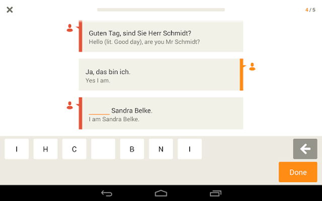 Learn German with Babbel screenshot apk 11
