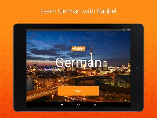 Learn German with Babbel screenshot apk 3