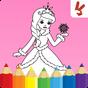 Boyama kitabı Çocuk Prensesler