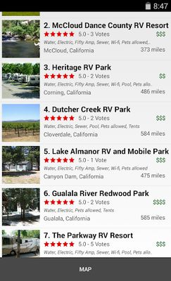 Image 7 of RV Parks & Campgrounds