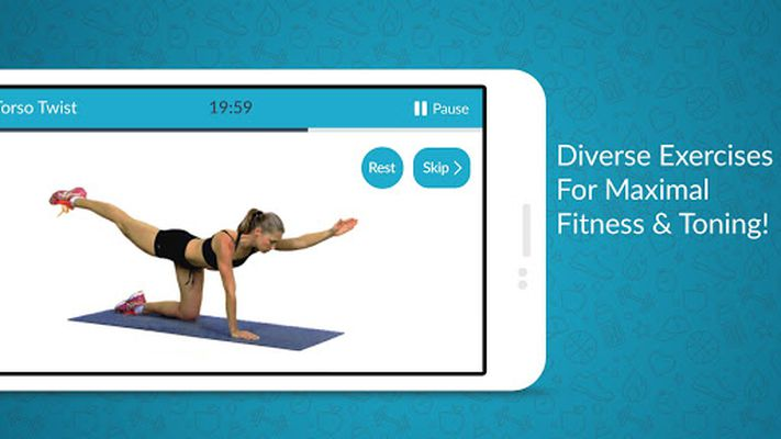 Women Fitness Video: Home Gym