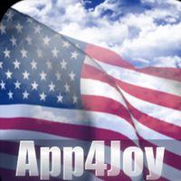 Ikona 3D US Flag Live Wallpaper