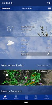 Image from Q13 News - Seattle Weather