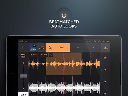 Edjing PRO video - DJ console