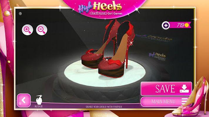 Game Image Design Heeled Shoes