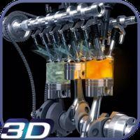 Иконка Мощный двигатель 3D живые обои
