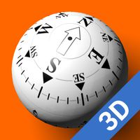 Icoană 3D Ball Compass Ad-Free