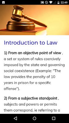 Image 1 of Law Course