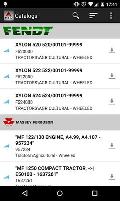Image 1 from AGCO Parts Books To Go