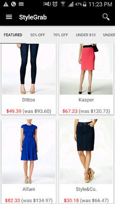 Image from StyleGrab - Fashion Deals