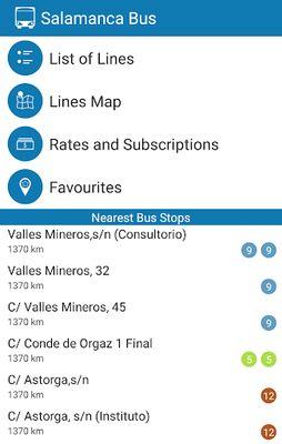 Image of Salamanca Bus