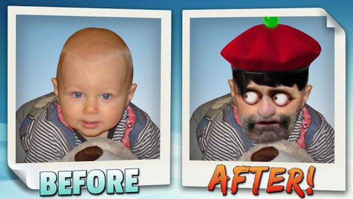 Image 3 of Animated face changer.