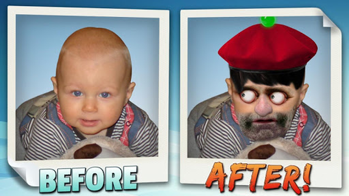 Image 19 of Animated face changer.