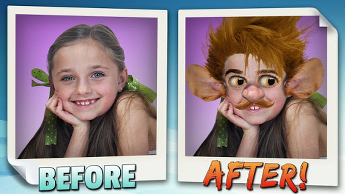 Image 16 of Animated face changer.