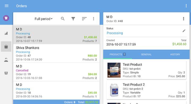 WooCommerce Mobile Assistant Screenshot 9