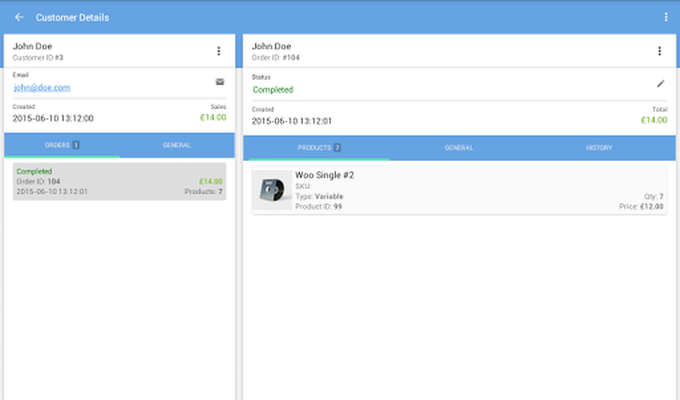 WooCommerce Mobile Assistant Screenshot 14
