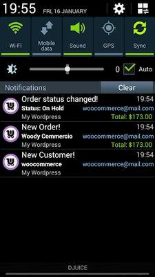 WooCommerce Mobile Assistant Screenshot 7