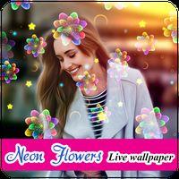 Ícone do Neon Flowers Livewallpaper