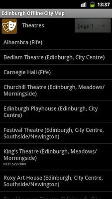 Image 1 of Edinburgh offline map