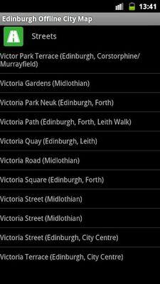 Image 6 of Edinburgh offline map