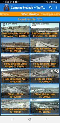 Image of Cameras Nevada and Las Vegas