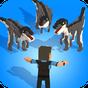 Jurassic Hopper: Crossy Dinosaur Shooter Game