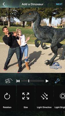 Jurassic World MovieMaker screenshot apk 2