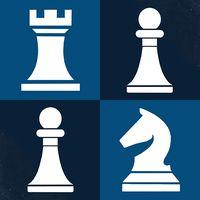 Ícone do jogar xadrez