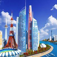 Designer City: building game icon